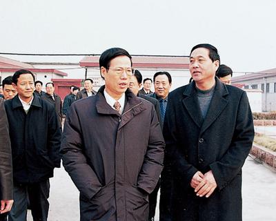 政治局常委张高丽2005年来集团视察